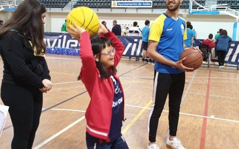 Campeonato de baloncesto y tiros libres