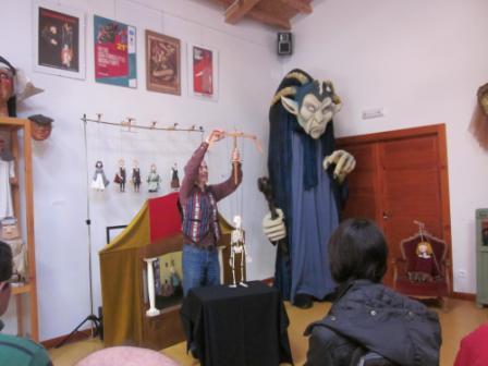 VISITA AL MUSEO DE TÍTERES
