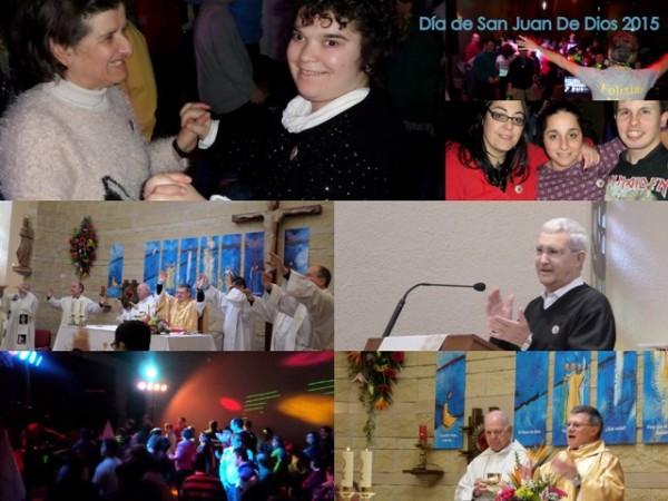 Celebración de la Eucaristía en honor a San Juan de Dios