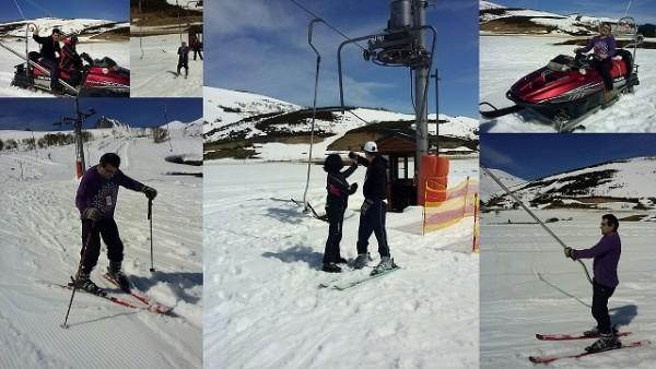 Dia en la nieve