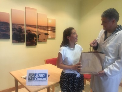 Sorteo en favor de ONGD Juan Ciudad