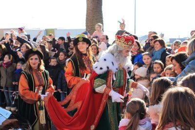 Visita de SSMM los Reyes Magos de Oriente