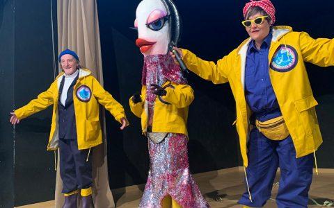 Recibimos la visita de la sardina del Antroxu