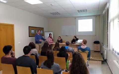 Visita de estudiantes Erasmus